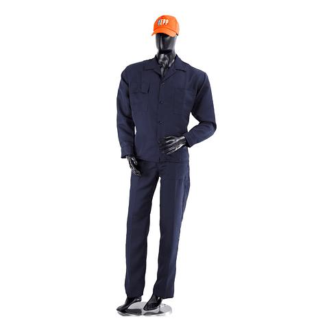 Overol Camisa y Pantalón Dril Color: Azul Oscuro Ref. 100110