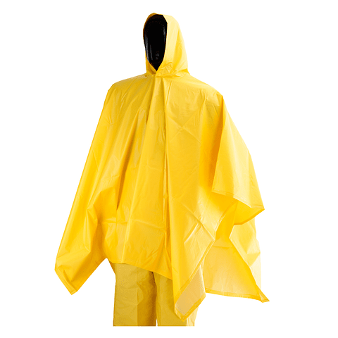 Poncho Waterproof 1.45 x 2 Mts Yellow Ref. 1484