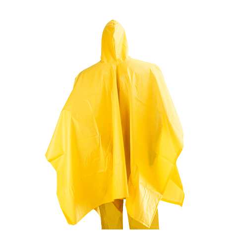 Poncho Impermeable 1.45 x 2 Mts Amarillo Ref. 1684