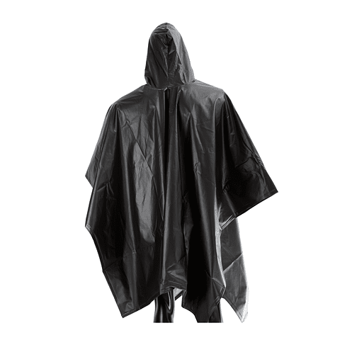 Poncho Impermeable 1.45 x 2 mts Negro Ref. 1484