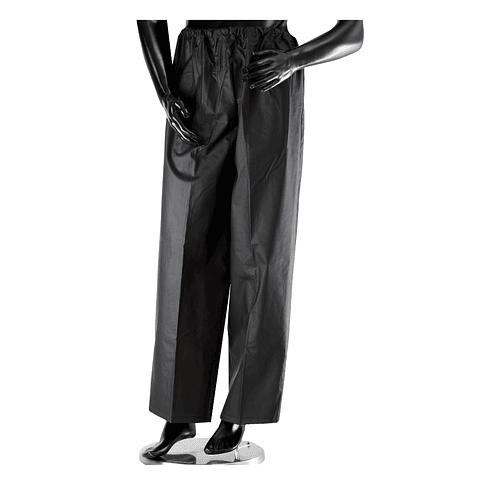 Pantalón Impermeable con Resorte Negro Ref. 1840
