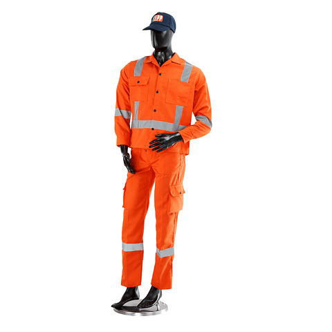 Coverall Shirt and Trousers IDU Without Brand Ref. 101004