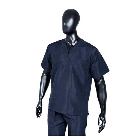 Conjunto Antifluido Cuello V Azul Oscuro Unisex Ref. 170210