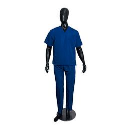 Conjunto Antifluido Cuello V Azul Rey Unisex Ref. 10801560