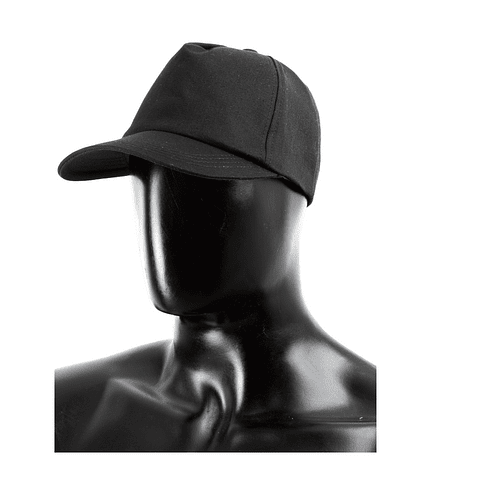 Gorra Dril Negro Ref. 160140