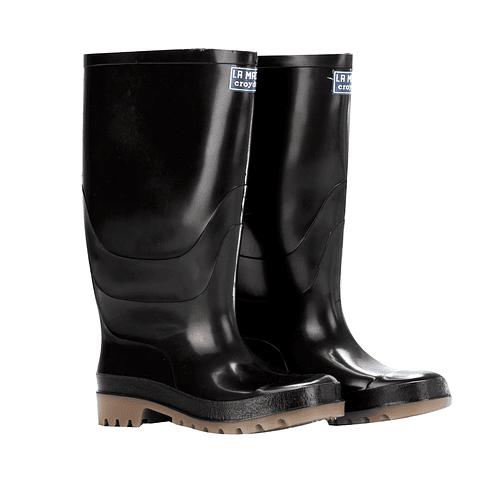 Boot Croydon Macha Alta Negra PVC Ref. 2330090