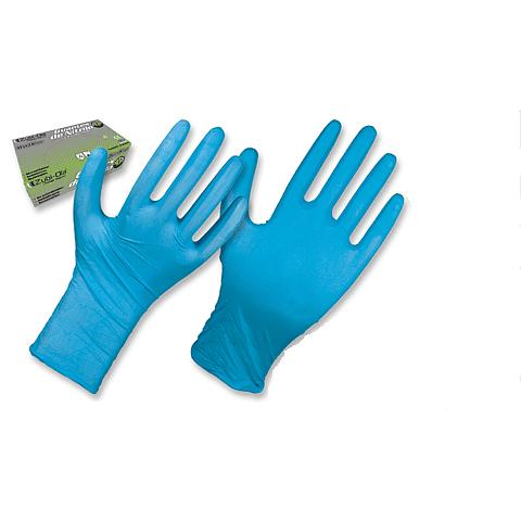 Guante Zubiola Nitrilo Azul para Usos Generales 8 Mils x 50 unidades Ref. 11931027/28/29