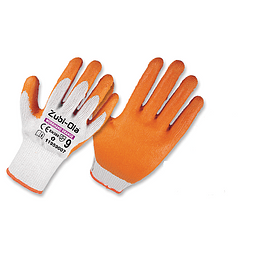 Zubiola Polycotton Latex Orange Glove Ref. 11959007
