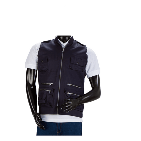 Denim Journalist Dark Blue Vest Ref. 10501010