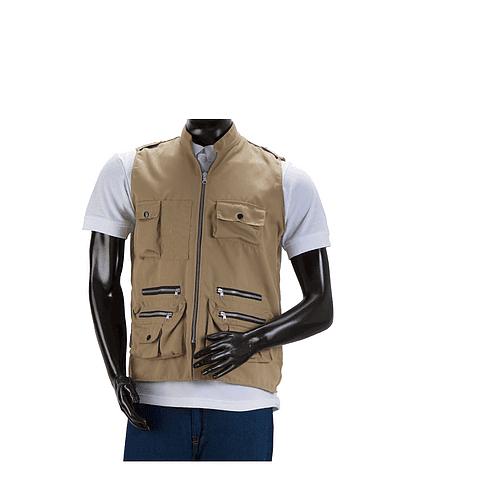 Drill Journalist Khaki Vest Ref. 10501030