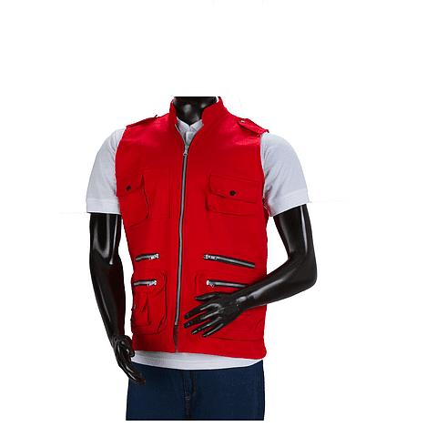 Chaleco Dril Rojo Ref. 150350