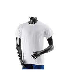 Camiseta Cuello Redondo Blanca Ref. 106001
