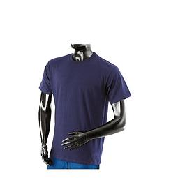 Camiseta Cuello Redondo Azul Oscuro Ref. 200110
