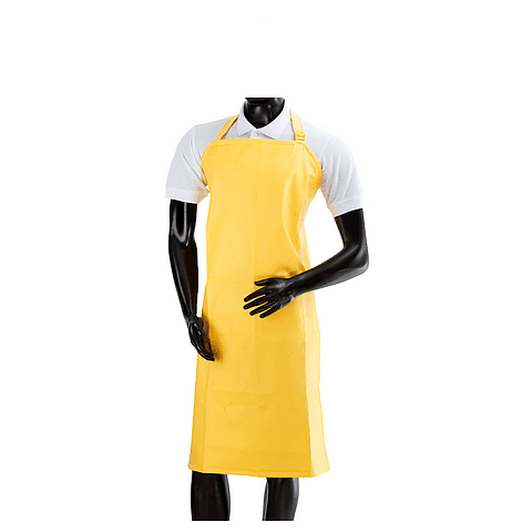 Delantal Impermeable Mediano Amarillo Ref. 2512