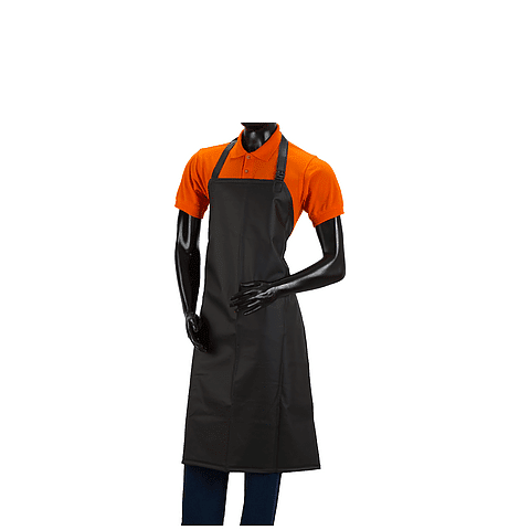 Waterproof Apron Medium Black Ref. 2512