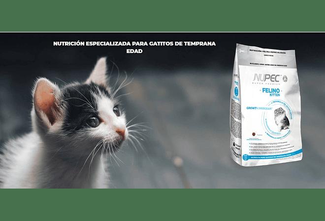 Alimento para gatitos cachorros NUPEC
