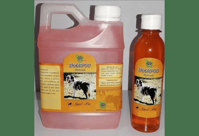 Shampoo medicado mascota