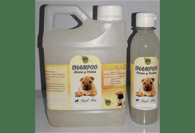 Shampoo Avena y Crema