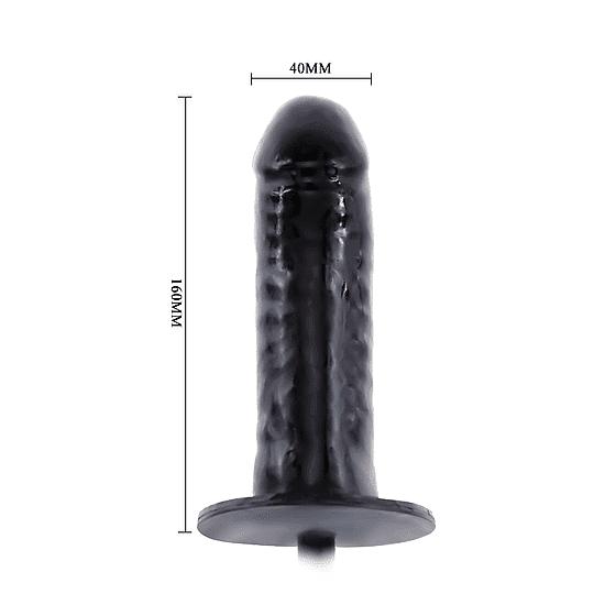 Dildo con bomba inflable