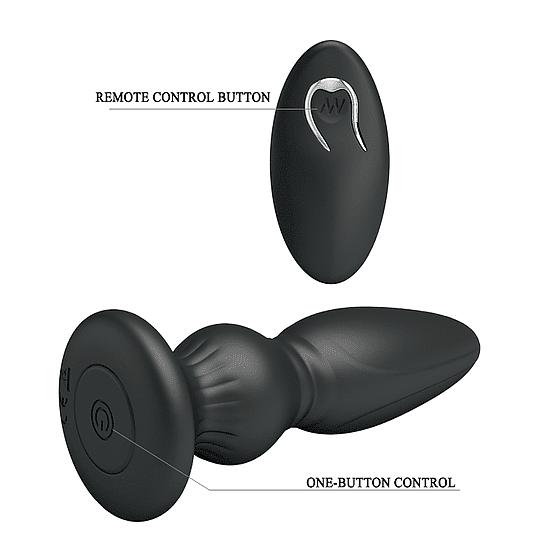 Masajeador Prostático / Plug Anal Recargable