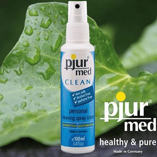 Limpiador Personal Antibacteriano Pjur Med Clean