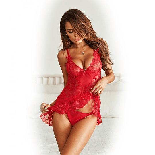 Babydoll rojo