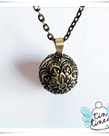 Llamador Flor de bronce