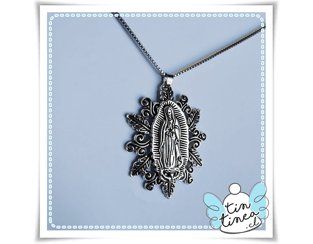 Medallón Virgen de Guadalupe