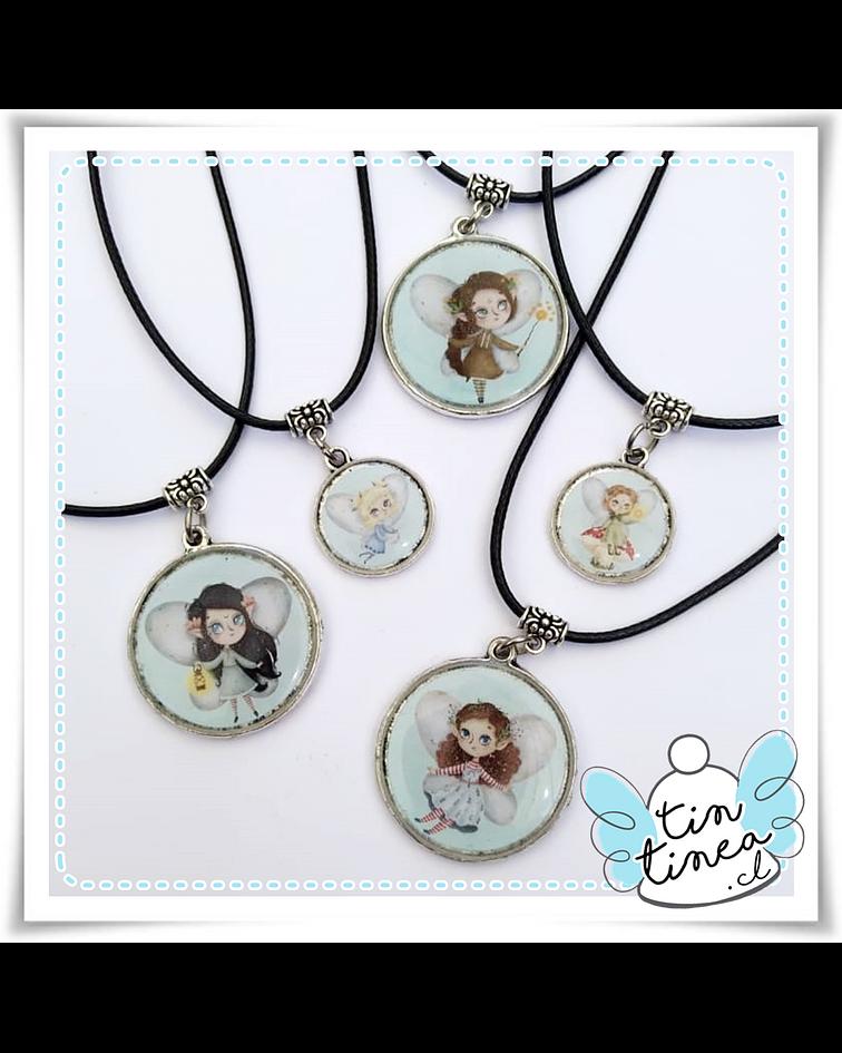 Medallitas Hadas del bosque