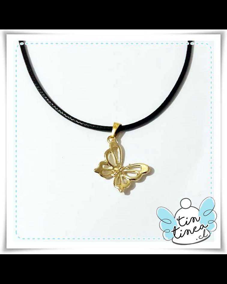 Colgante Mariposa dorada