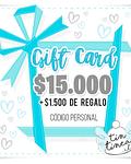 Gift Card Tintinea