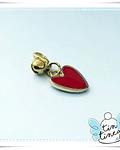 Charm Corazón rojo
