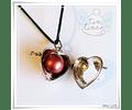 Llamador Corazón alado