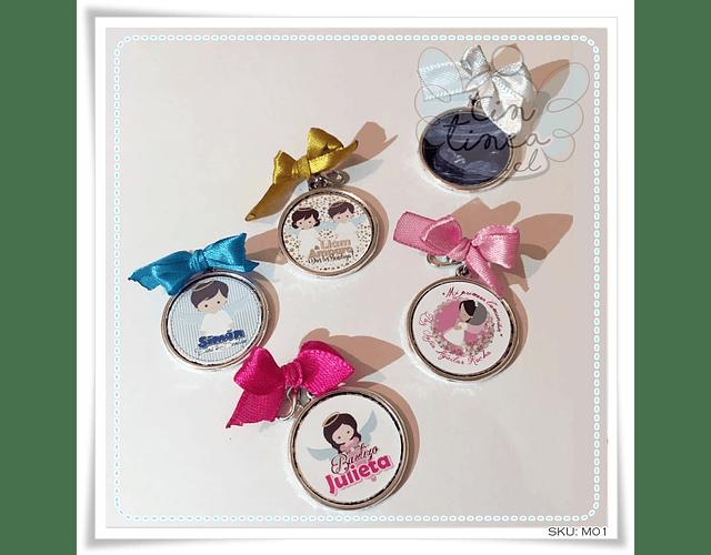 Medallitas personalizadas