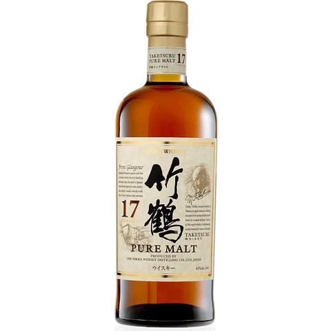 Nikka Pure Malt 17 years Taketsuru (LIMITADO)