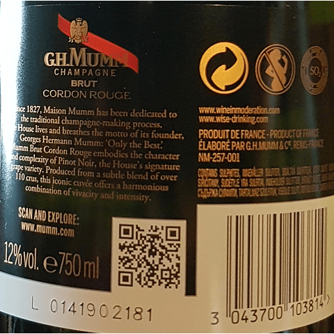 Champagne Mumm Brut