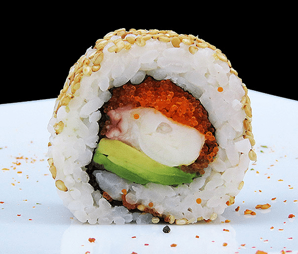 CALIFORNIA TAKO ROLL