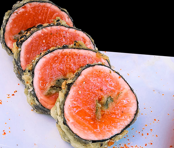 Tataki roll (6 cortes)