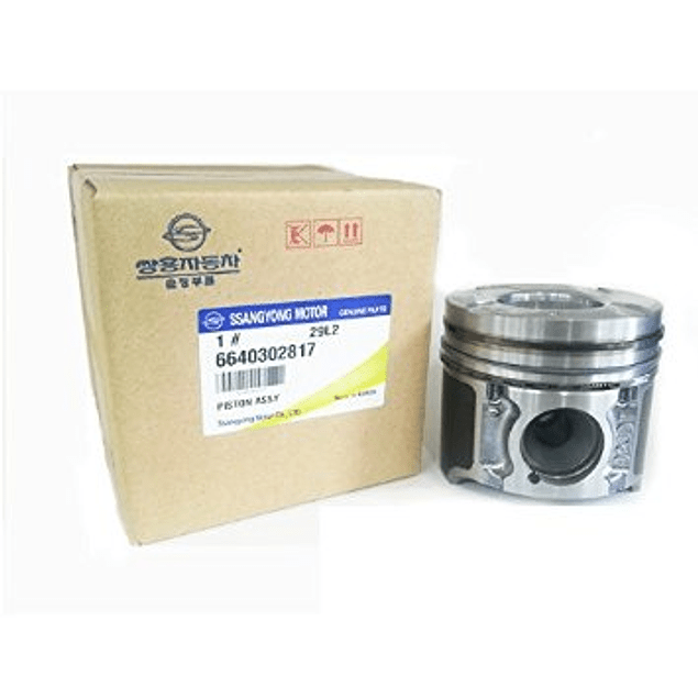 Oem: 6640302817 | Piston Std Con Anillos 86.2Mm Actyon 2006-2011