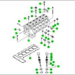 Kit Golilla y Plug Termovalvula Rexton 2.9