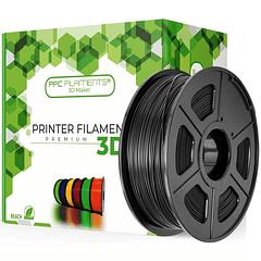 FILAMENTOS PLA+ NEGRO 1KG PPC Filaments | FILAMENTOS