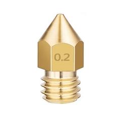 BOQUILLA 0.2mm DE IMPRESORA 3D CREALITY   REPUESTOS 3D