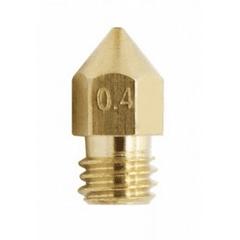 BOQUILLA 0.4mm DE IMPRESORA 3D CR-6 SE MK BRASS CREALITY   REPUESTOS 3D