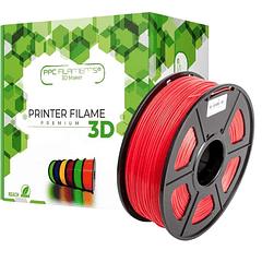 FILAMENTOS PLA+ ROJO 1KG PPC Filaments   FILAMENTOS