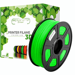 FILAMENTOS PLA+ VERDE 1KG PPC Filaments   FILAMENTOS
