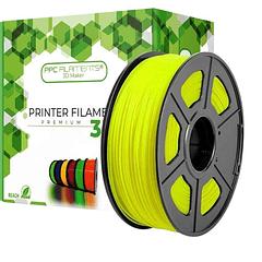 FILAMENTOS PLA BRILLA EN OSCURIDAD AMARILLO 1KG PPC Filaments | FILAMENTOS