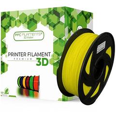 FILAMENTOS PLA+ AMARILLO 1KG PPC Filaments   FILAMENTOS