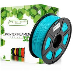 FILAMENTOS PLA+ CYAN 1KG PPC Filaments   FILAMENTOS
