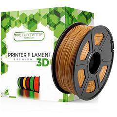 FILAMENTOS PLA+ CAFÉ 1KG PPC Filaments   FILAMENTOS
