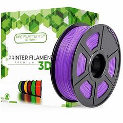 FILAMENTOS PLA+ MORADO 1KG PPC Filaments   FILAMENTOS
